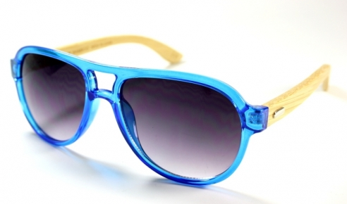 Aviators Bamboo Blue