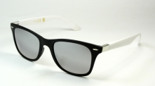 Wayfarer Siders Black/White Mirror