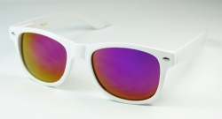 Wayfarer Revo White Oily Purple