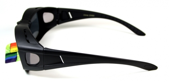 Polariserande Fit-over Shades Black matte