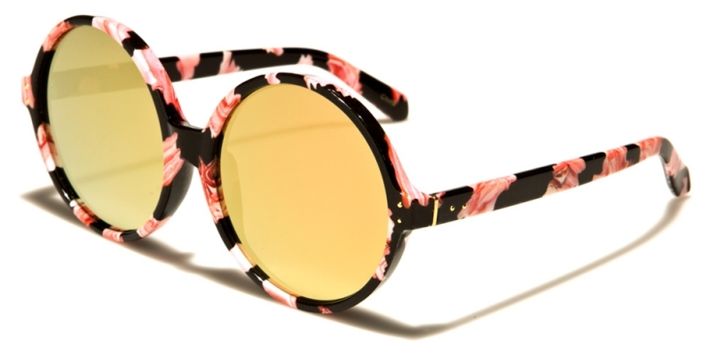Solglasögon Klot Orange Svart Gult Glas cc20fdb99dbfb