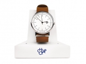 HAROLD BROWN LEATHER STRAP WHITE