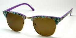 Clubmaster Purple/Turkos