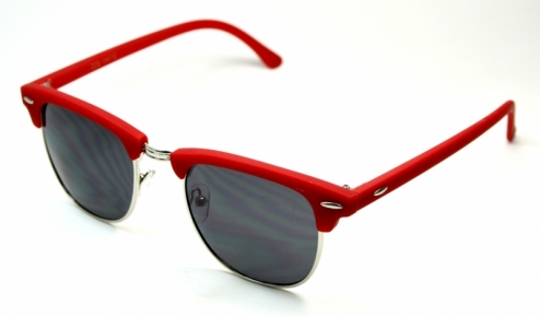 Clubmaster Matte Red