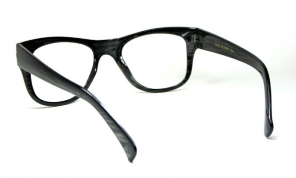 Clear Lens Shock Black Striped