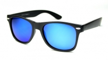 Wayfarer Revo Matte Blue Glass