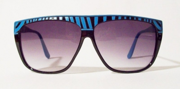 Oversized Zebras Blue