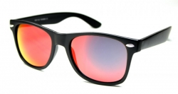 Wayfarer Revo Matte Black/Red oily