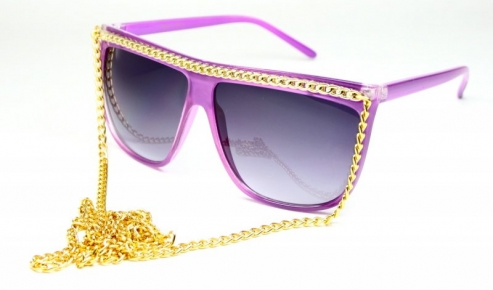 Colber Chains Purple/Gold
