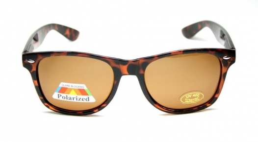 Wayfarer Polarized Large Light Tortoise