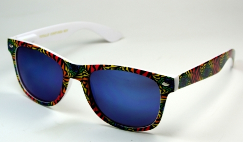 Wayfarer Shell Blue Oily Blue