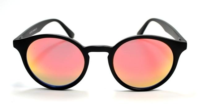 Solglasögon Retro Harry Svart Oljeröd ef5d547d1286d