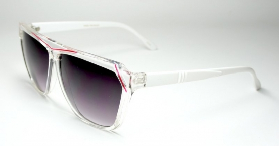 Retro Floridas Transparent/White