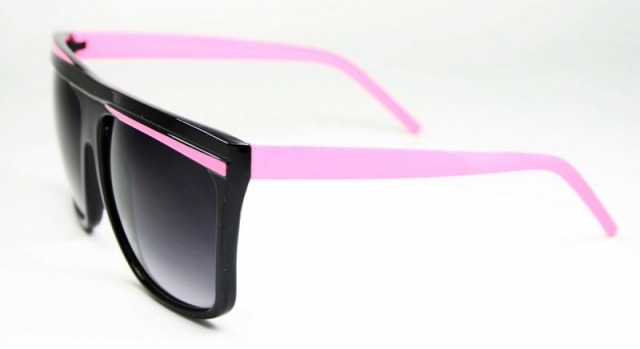 Oversized Two Colours Black/Pink
