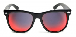 Wayfarer Revo Large Matte Oily Red