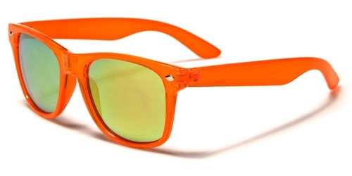 Wayfarer Trans Neon Orange