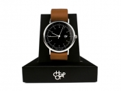 HAROLD BROWN LEATHER STRAP BLACK