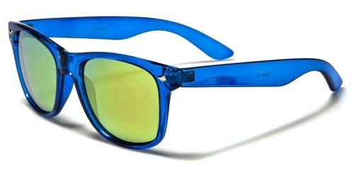 Wayfarer Trans Neon Blue Oily Yellow