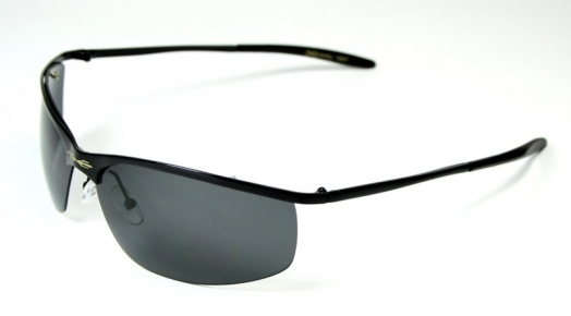 Metal Pilot Polarized Spot Black