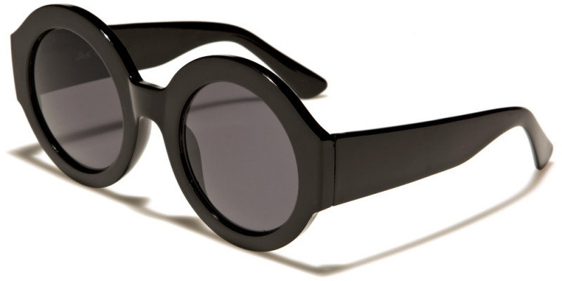 Solglasögon Rund Estety Svart e6142b6a181d5