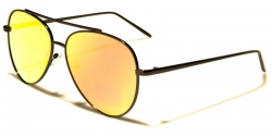 Eyed Aviators Svart Gul/Orange Glas