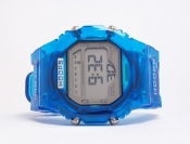 Sport Watch Transparent Blue