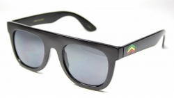 Retro Flat Tops Rasta Black