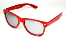 Wayfarer Red Mirror