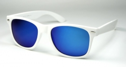 Wayfarer Revo White/Blue Oily