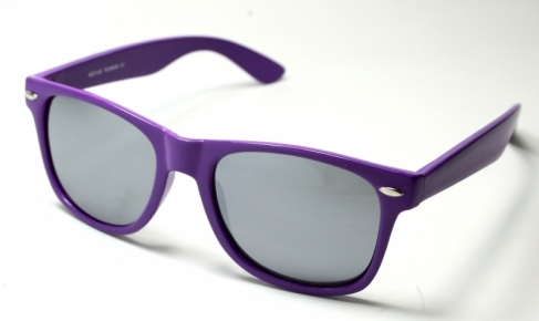 Wayfarer Purple Mirror