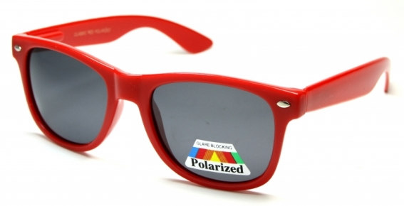 Wayfarer Polarized Red