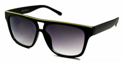 Aviators Black Line Yellow