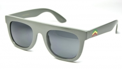 Retro Flat Tops Rasta Grey