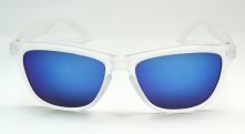 Wayfarer Froggle Frosty Oliy Blue Glass