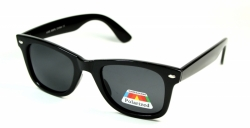 Polarized Wayfarer Black Medium