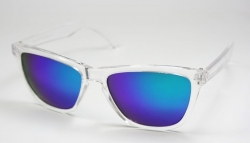 Wayfarer Froggles Transparent/Blue Glass