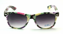 Wayfarer Flower Black