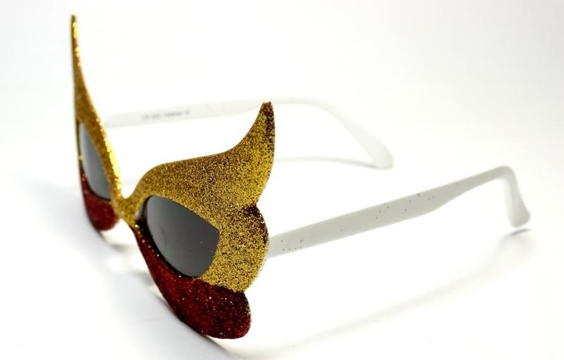 Maskerad Katt Guld Röd a5e075d9acb41
