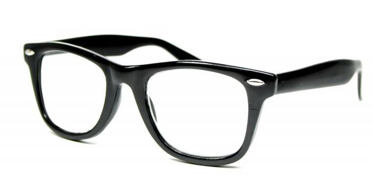 läsglasögon med wayfarer bågar